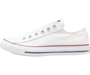 Weiße Converse slipper