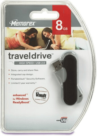 Image of Memorex TravelDrive 8GB (331045)