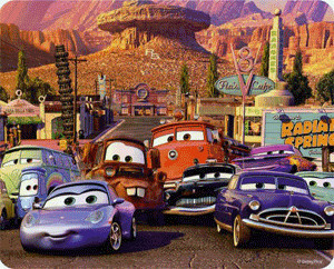 Mattel Cars Endlos Puzzles