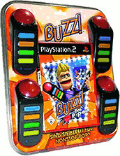 Buzz! - Das Pop Quiz + Buzzer (PS2)