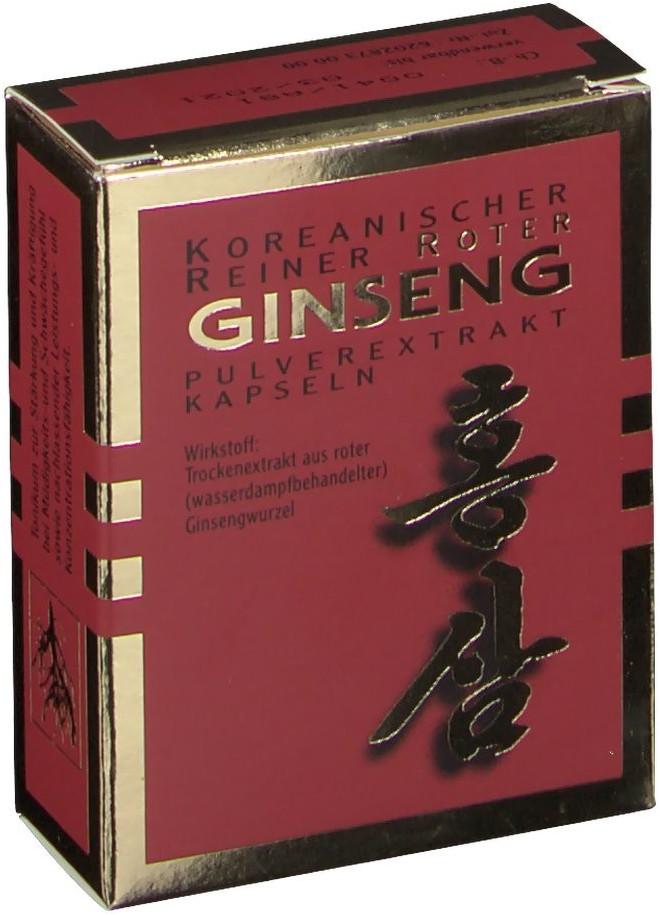 Roter Ginseng Extrakt Kapseln (30 Stk.)