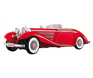 Image of Maisto Mercedes-Benz 500 K Typ Specialroadster 1936 Premiere Edition (36862)