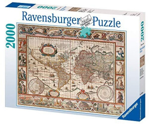 Ravensburger world map jigsaw puzzle copy worldmap1665 amazoncom ravensburger world map 1650 gumiabroncs Image collections
