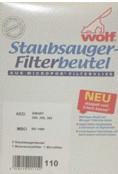 Wolf Staubsaugerbeutel aus Micropor (0110)