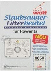 Wolf Staubsaugerbeutel aus Micropor (0650)