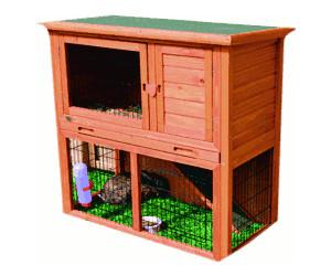 trixie natura kleintierstall mit freilaufgehege 62302 ab 110 01 preisvergleich bei. Black Bedroom Furniture Sets. Home Design Ideas