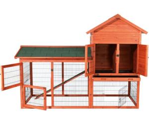 trixie natura kleintierstall mit freilaufgehege 62332 ab 268 53 preisvergleich bei. Black Bedroom Furniture Sets. Home Design Ideas