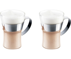 Buy Bodum Assam Coffee Glass With Steel Handle 037 L 2