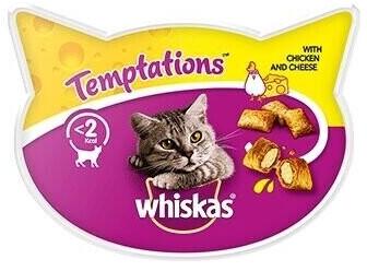 Whiskas Knusper-Taschen Huhn & Käse (60 g )