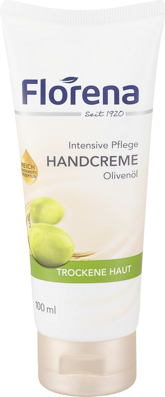 Florena Handcreme mit Olivenöl (100 ml)