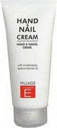 Village Vitamin E Hand & Nagel Creme Tube (100 ml)