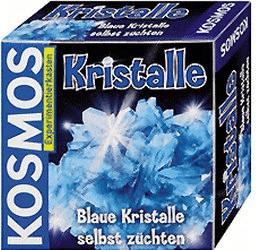 Kosmos Kristalle blau