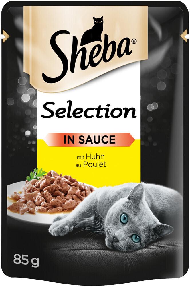 Sheba Selection in Sauce mit Huhn 85g