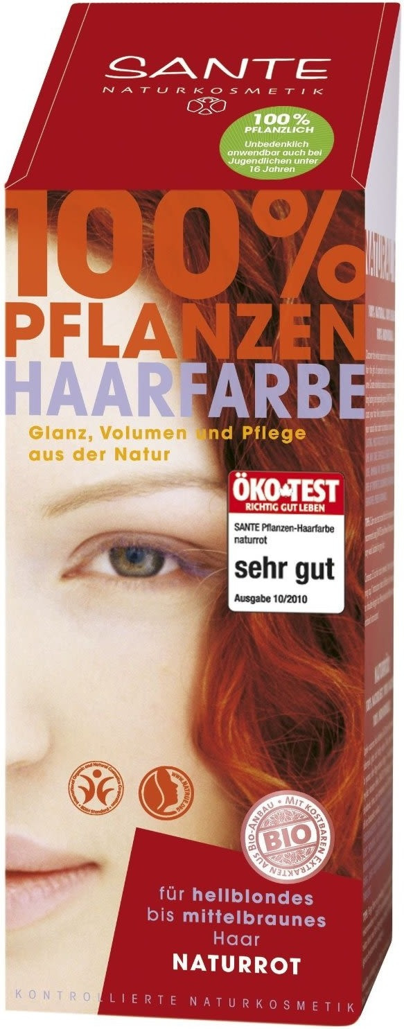 Sante Pflanzen-Haarfarbe Naturrot (100 g)