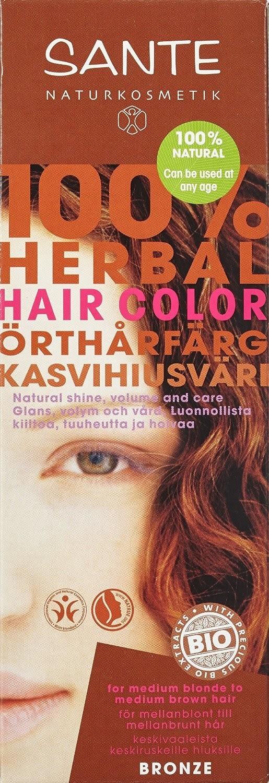 Sante Pflanzen-Haarfarbe Bronze Rotbraun (100 g)