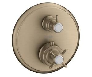Robinet m/élangeur thermostatique mitigeur thermostatique avec protection anti-br/ûlure et robinet m/élangeur thermostatique pour douche Syst/ème de r/églage de la temp/érature deau