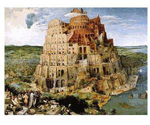 Clementoni Brueghel - The tower of Babel