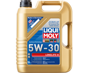 liqui moly longlife iii 5w30 ab 12 09 preisvergleich. Black Bedroom Furniture Sets. Home Design Ideas