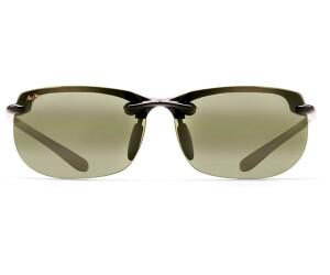 Maui Jim Banyans Sonnenbrille Schwarz glänzend HT412-02 Polarisiert 70mm iqEEsVxhK6