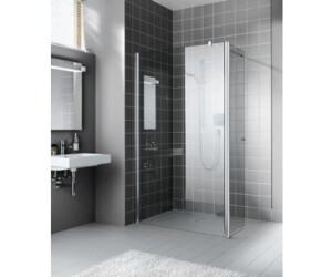 kermi atea walk in duschwand rechts bxt 80 x 80 cm typ. Black Bedroom Furniture Sets. Home Design Ideas