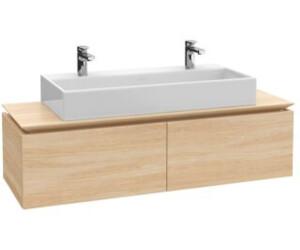 villeroy boch legato 140x38cm waschtisch mit 2 armaturen b14400 ab. Black Bedroom Furniture Sets. Home Design Ideas
