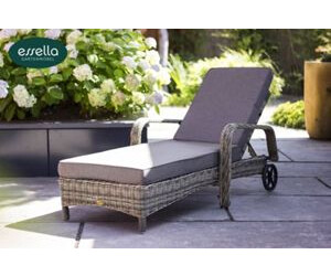 essella barbados sonnenliege polyrattan ab 389 00 preisvergleich bei. Black Bedroom Furniture Sets. Home Design Ideas