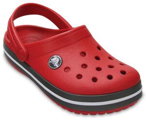 crocs Kinder Sandale Crocband Clog K 204537 Blazing Orange/Slate Grey 20-21 POnxdxyi4