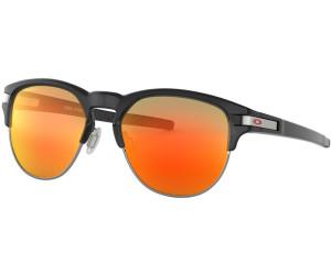 Oakley Herren Sonnenbrille »LATCH KEY OO9394«, schwarz, 939404 - schwarz/rot
