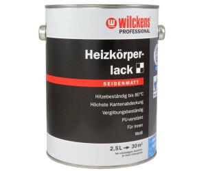 Wilckens Professional Heizkorperlack Seidenmatt Weiss 2 5 L 17691103 080 Ab 25 99 Preisvergleich Bei Idealo De