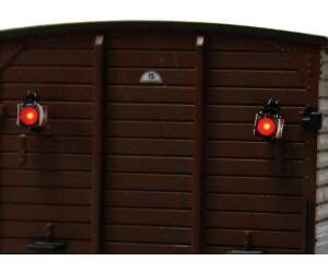 Viessmann HO 5069 Zugschluss-Laternen mit LED neu und originalverpackt