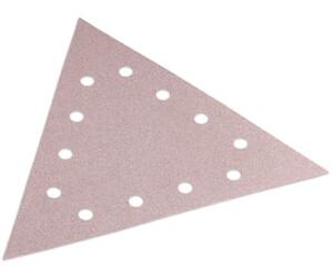 80 K/örnung 10 St/ück Dreieckschleifpapier mit Klettverschlu/ß