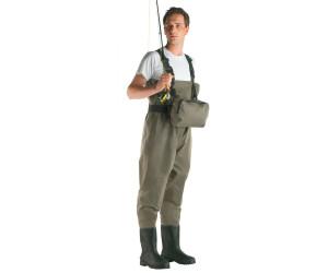 Cormoran Wathose Nylon mit Brusttasche 100/% wasserdicht verschiedene Größen