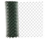 REWWER-T.D Maschendrahtzaun 40x2,8x1000 10m PVC grün ummantelt ***NEU***