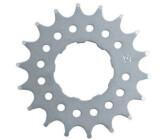 "Point Steckkranz Single Speed 18 Z 1//2/""x3//32/"" CroMo Ringe silber Fahrrad"