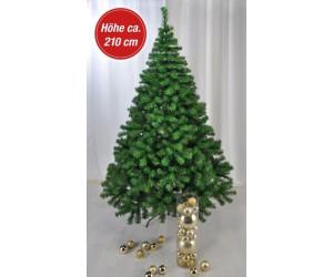 haushalt international weihnachtsbaum 210cm gr n ab 38 00. Black Bedroom Furniture Sets. Home Design Ideas