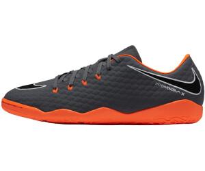 buying new popular brand classic styles Nike Hypervenom PhantomX III Academy IC dark grey/white ...