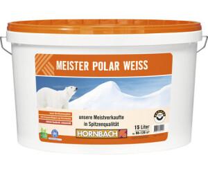 Hornbach Meister Polarweiss 15 L 11024 Ab 51 62 Preisvergleich Bei Idealo De