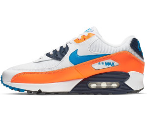 buy popular e132e 89688 Nike Air Max 90 Essential white/total orange/midnight navy/photo ...