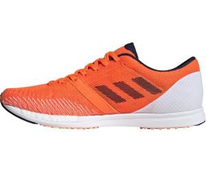Adidas Adizero Takumi Sen 5 cloud whitesolar orangesolar